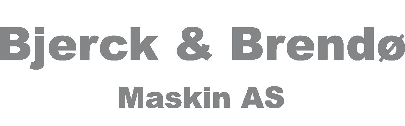Bjerck og Brendø Maskin